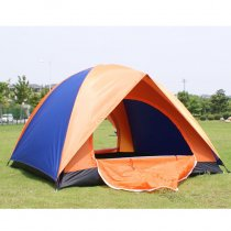 Tentsme Professional 2 Person Tent, Dome, Orange & Blue