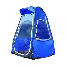 Fishing Portable outdoor pop up tent with UV function ice fishing tent with a sunshade cap