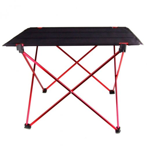 Hot Sale Folding Table Desk Camping Outdoor Picnic Aluminium Alloy Ultra-light, 22*16*14.6 inch