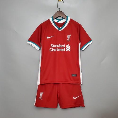 Liverpool Home Kids Jersey 20/21