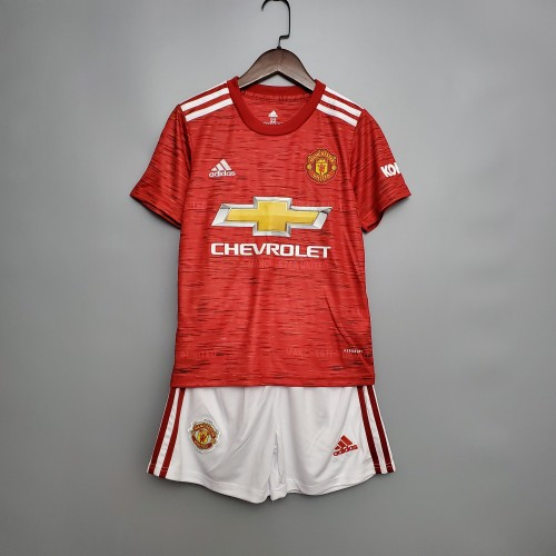 Manchester United Home Kids Jersey 20/21