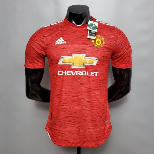 Manchester United Home Player Jersey 20/21