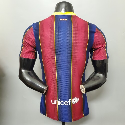 Barcelona Home Player Jersey 20/21