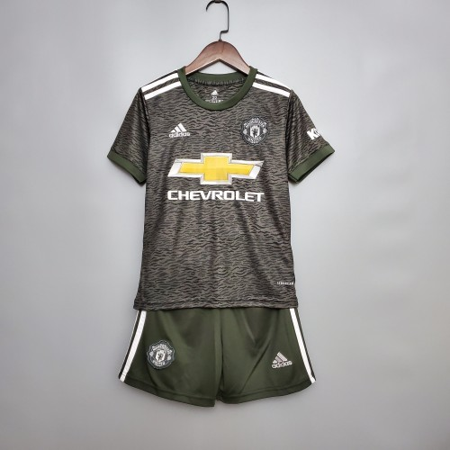 Manchester United Away Kids Jersey 20/21