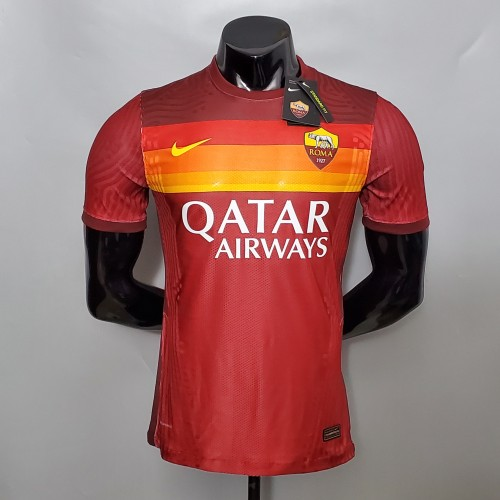 AS Roma Home Player Jersey 20/21