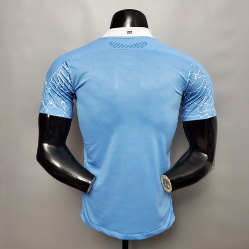 Manchester City Home Player Jersey 20/21
