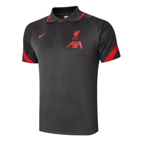 Liverpool POLO Jersey 20/21 Dark Grey