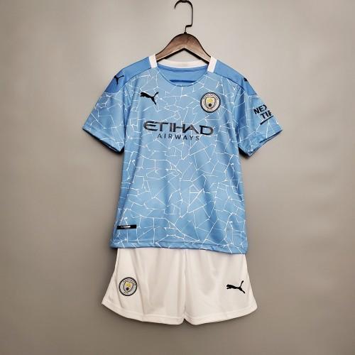 Manchester City Home Kids Jersey 20/21