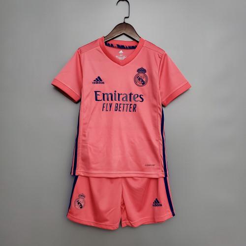 Real Madrid Away Kids Jersey 20/21