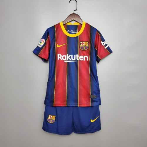 Barcelona Home Kids Jersey 20/21