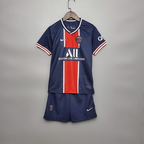Paris Saint Germain Home Kids Jersey 20/21