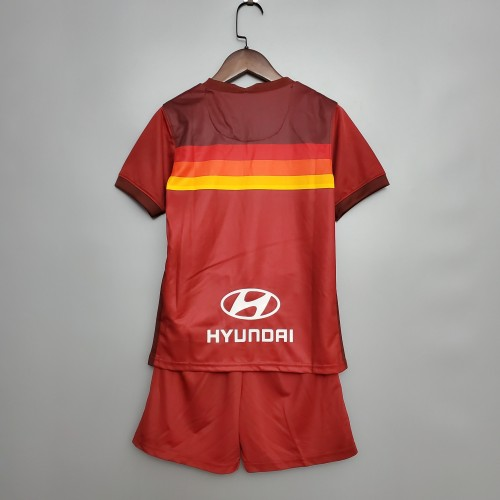 AS Roma Home Kids Jersey 20/21