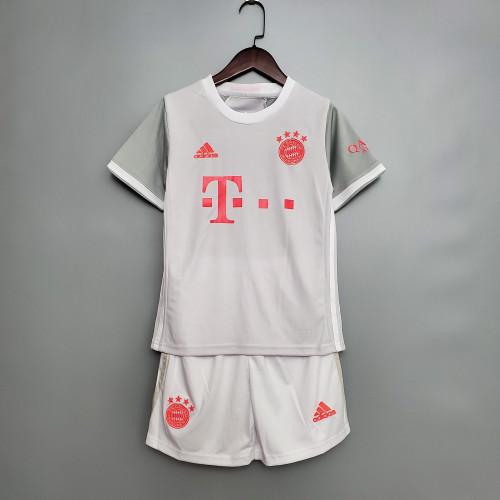 Bayern Munich Away Kids Jersey 20/21
