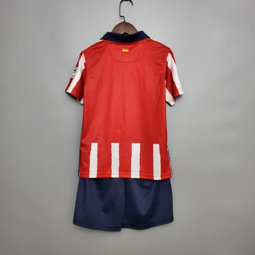 Atletico Madrid Home Kids Jersey 20/21