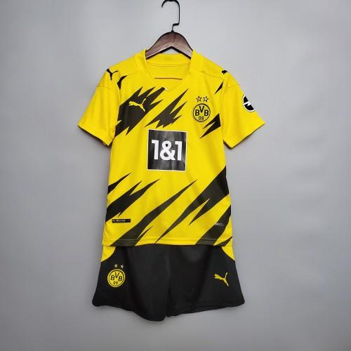 Borussia Dortmund Home Kids Jersey 20/21