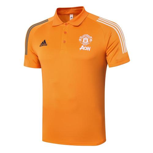 Manchester United POLO Jersey 20/21 Orange