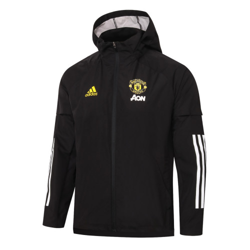 Manchester United Training Windbreaker 20/21 Black