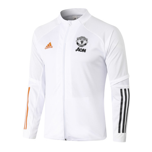 Manchester United Training Jacket 20/21 White