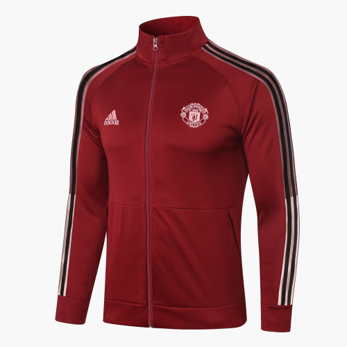 Manchester United Training Jacket 20/21 Red