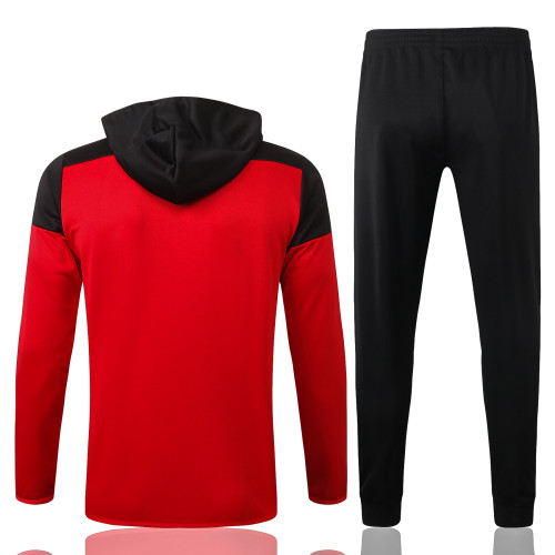 Manchester United Training Jacket Suit 20/21 Red