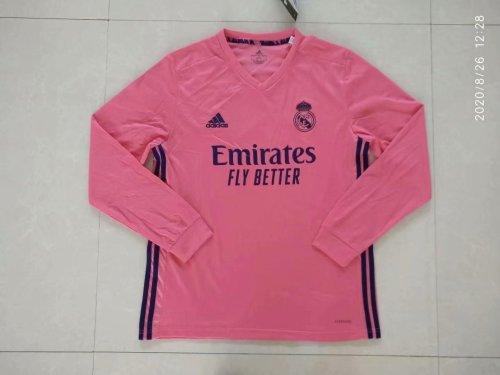 Real Madrid Away Man Long Sleeve Jersey 20/21