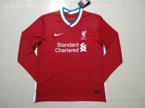 Liverpool Home Man Long Sleeve Jersey 20/21
