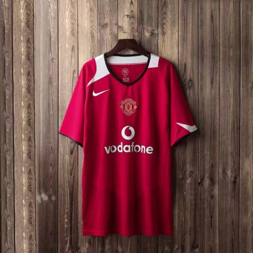 Manchester United Home Retro Jersey 04/06