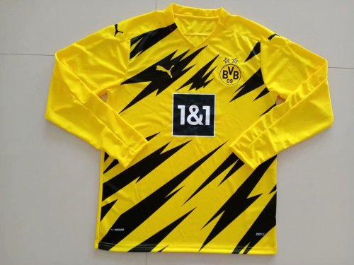 Borussia Dortmund Home Man Long Sleeve Jersey 20/21