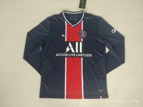 Paris Saint Germain Home Man Long Sleeve Jersey 20/21