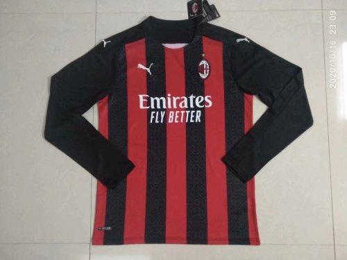 AC Milan Home Man Long Sleeve Jersey 20/21