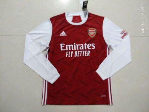 Arsenal Home Man Long Sleeve Jersey 20/21