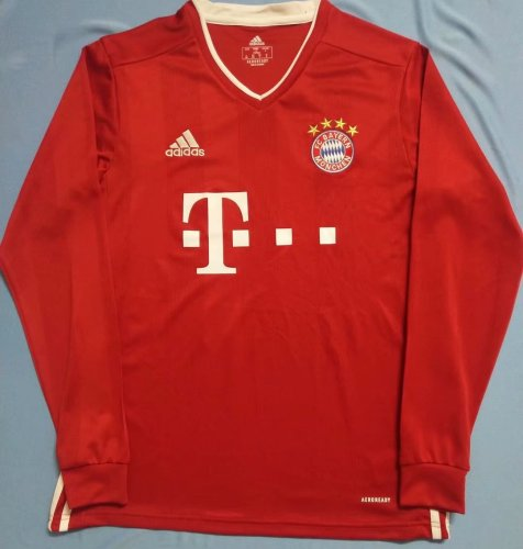 Bayern Munich Home Man Long Sleeve Jersey 20/21