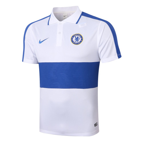Chelsea POLO Jersey 20/21 White