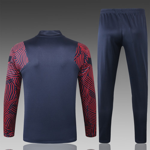 Paris Saint Germain Training Jersey Suit 20/21 Blue