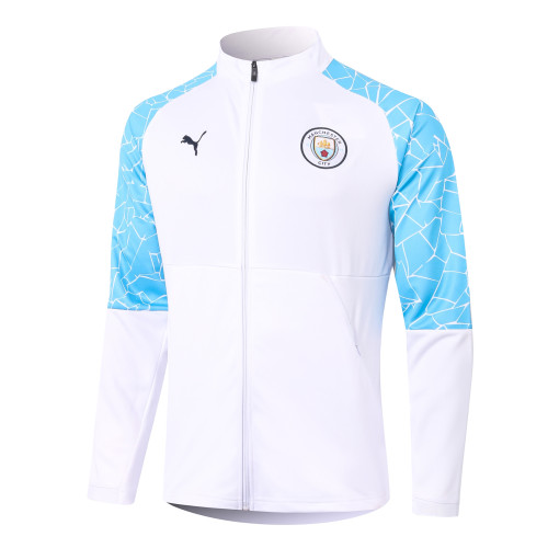 Manchester City Training Jacket 20/21 White