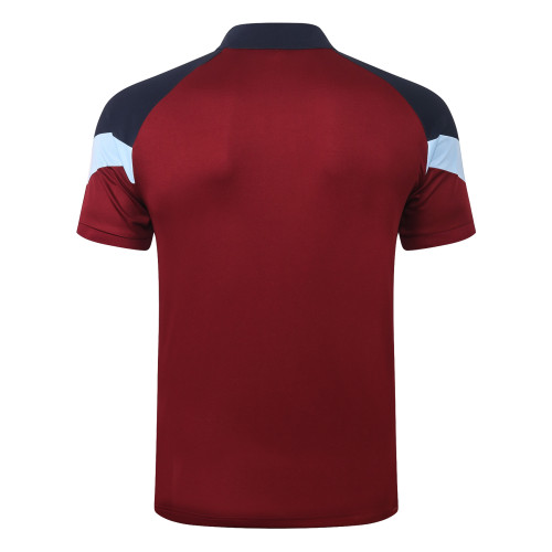 Manchester City POLO Jersey 20/21 Red