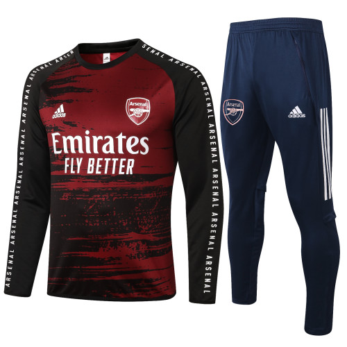 Arsenal Training Jersey Suit 20/21 Red