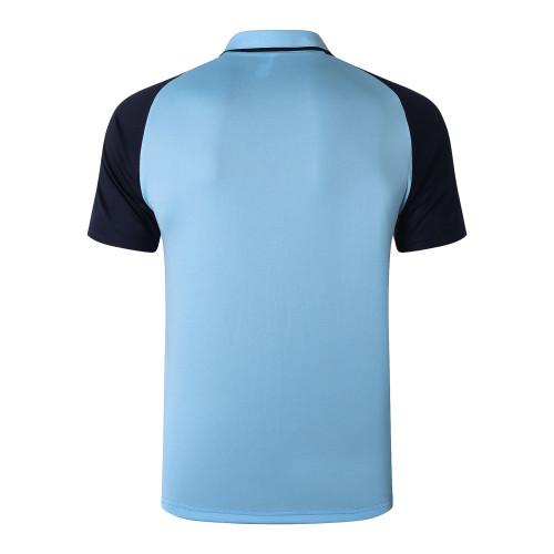 Manchester City POLO Jersey 20/21 Light blue