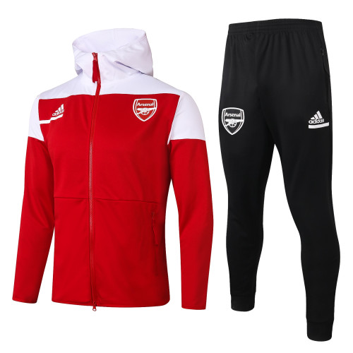 Arsenal Training Jacket Suit 20/21 Red