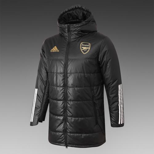 Arsenal Down Cotton Jacket 20/21 Black