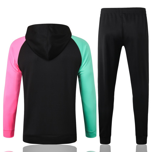 Barcelona Training Jacket Suit 20/21 Black