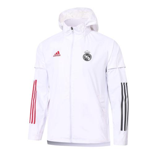 Real Madrid Training Windbreaker 20/21 White