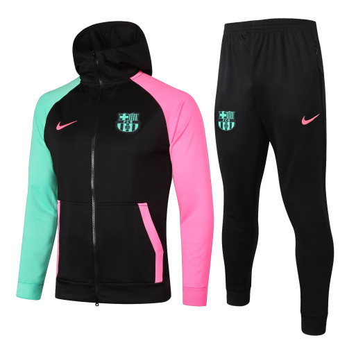 Barcelona Training Jacket Suit 20/21 Black