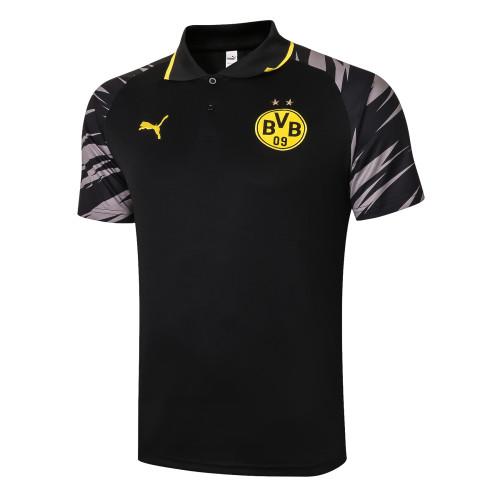 Borussia Dortmund  POLO Jersey 20/21 Black