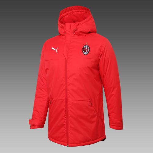 AC Milan Down Cotton Jacket 20/21 Red