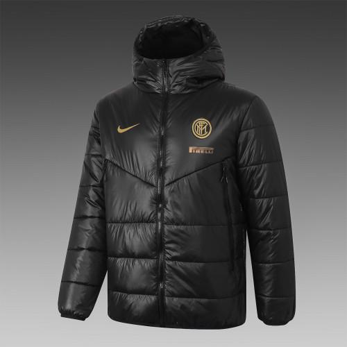Inter Milan Down Cotton Jacket 20/21 Black