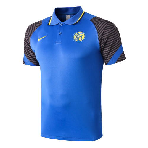 Inter Milan POLO Jersey 20/21 Blue
