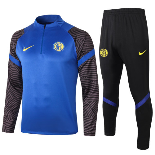 Inter Milan Training Jacket 20/21 Blue