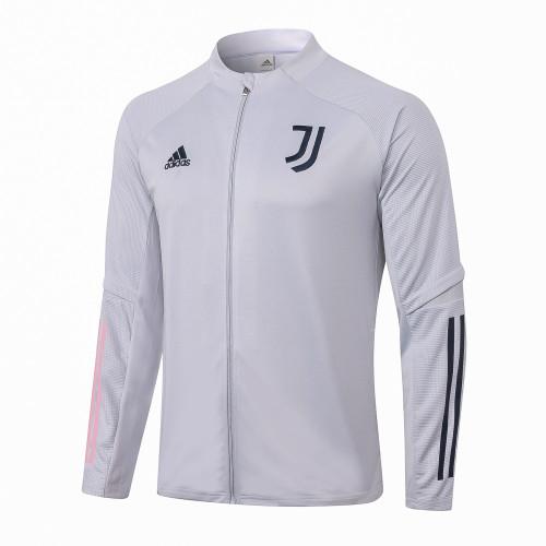 Juventus Training Jacket 20/21 Light Grey