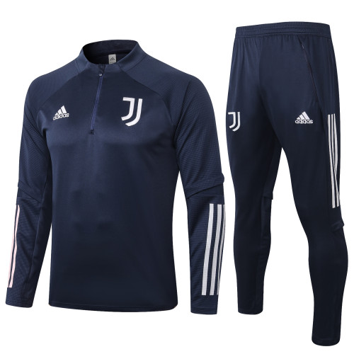 Juventus Training Jacket Suit 20/21 Blue